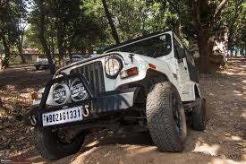 thar jeep modified in kerala the sherpa my mahindra thar crde 4x4 team bhp
