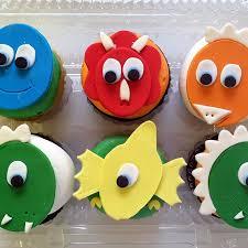 dinosaur cupcakes 2125 dinosaur cupcakes café pierrot