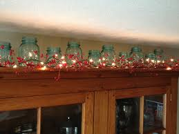 great ideas for decorating above kitchen cabinets for christmas 94