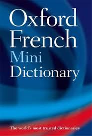 Oxford Press Desk Copy Oxford French Minidictionary By Oxford University Press