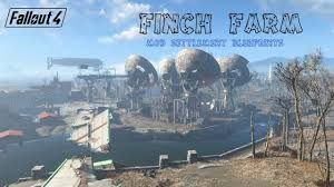 Farm Blueprints Fallout 4 Finch Farm Mod Settlement Blueprints Youtube