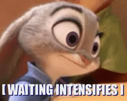 Waiting Memes - waiting intensifies zootopia know your meme