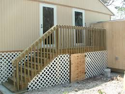 deck stair railings construction stylish deck stair railing