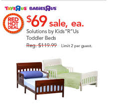 Toddler Beds On Sale Wooden Toddler Beds Only 69 Reg 119 At Toys R U0027 Us Today Only