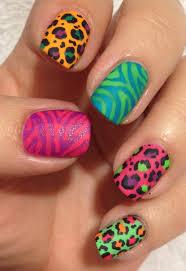zebra nails polish me snazzy