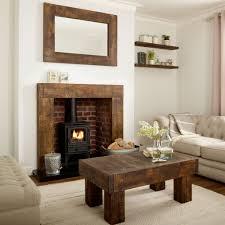 oak fire surround grosvenor solid french rustic beam