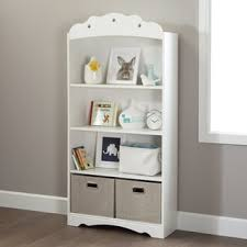 White Girls Bookcase Bookcases And Shelves Kids U0027 Storage U0026 Toy Boxes Shop The Best