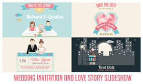 the story of us wedding invitation by creativethings videohive