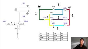 fluid power iso and ladder diagram tutorial youtube wiring