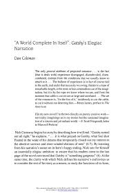 themes and ideas in the great gatsby gatsby essay how to write an introduction in great gatsby themes