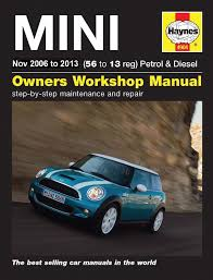 2nd gen haynes mini manual out september mini cooper forum