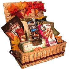 thanksgiving gift baskets treats