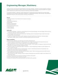 Resume Engineering Manager Tramco Inc Linkedin
