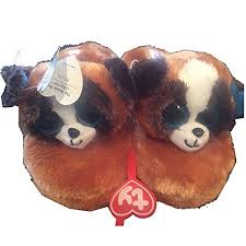 ty beanie boo duke dog slipper small