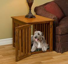 Dog Beds Made Out Of End Tables Made Dog Crate End Table