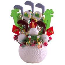lollipop bouquet golf party favors fathers day gift ideas