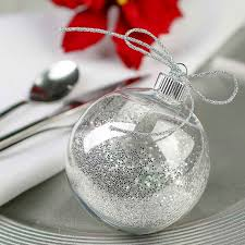 clear plastic ornament acrylic fillable ornaments craft