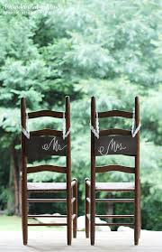 wedding chair signs mountain modern diy wedding chair signs for and groom