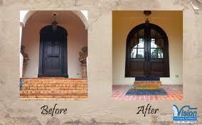 wood entrance doors for atlanta buckhead vinings