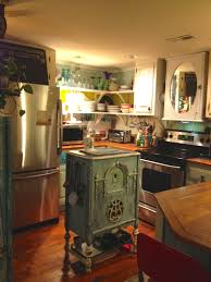 Old Kitchen Island by Sheshe The Home Magician Old Radio Cabinet To Kitchen Island Bar