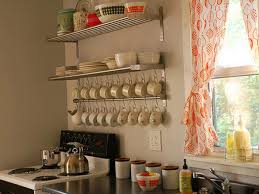 kitchen adorable stainless steel wire rack open kitchen wall