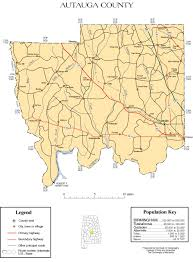 Florida Alabama Map by Maps Of Autauga County