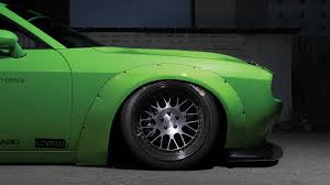 Dodge Challenger On Rims - dub magazine project hulk liberty walk challenger