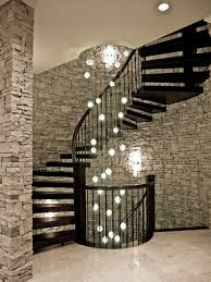 Chandelier Ideas Contemporary Staircase And Chandelier Ideas For Home For Image