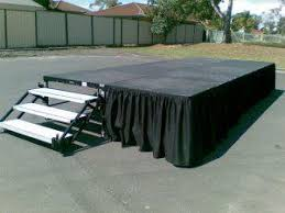 portable stages stage rentals stage risers portable staging