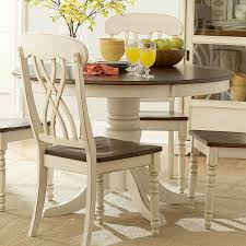 kitchen table distressed white dining table white distressed
