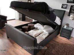 collection in double ottoman storage bed 4ft small double leather