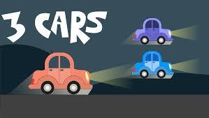 cartoon car clipart cartoon car landscape remix 3 color variations