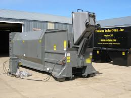 used trash compactor best perfect used stationary trash compactor 6032