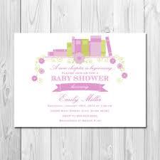 storybook themed baby shower invitations storybook template corpedo com