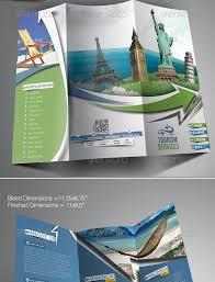 travel and tourism brochure templates free travel tours trifold brochure template template
