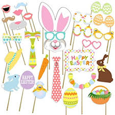 easter photo props birthday photo booth props no diy