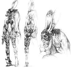 week 12 final fantasy xii concept art mon fran sketch 파판