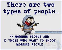 Morning People Meme - facebook meme s of the week