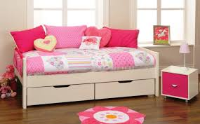 White Wooden Daybed Daybed Furniture White Wooden Daybed With Drawers Underneath