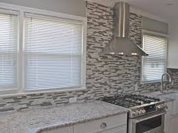 modern kitchen interior decoration ideas backsplash glass tiles