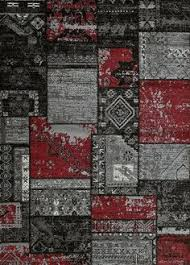 black red white area rugs rug california woven rug retro rug red