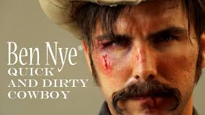 halloween tips for a quick and dirty cowboy from ben nye youtube