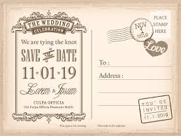 wedding postcards wedding invitations postcard design graphic vector free vector in