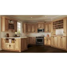 kitchen cabinet in home depot hton assembled 27x30x12 in wall kitchen cabinet in hickory