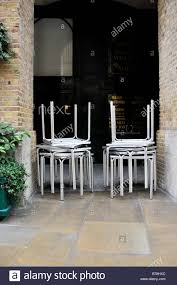 Outdoor Bistro Chair Cushions Square Furniture Mod Bstro Chr Stacking Bistro Chairs Aluminium Chrome