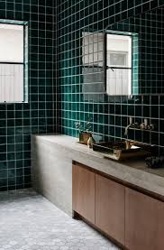 dark green bathroom boncville com