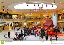 Decoration In Christmas by Christmas Decoration In Shopping Mall Editorial Stock Photo