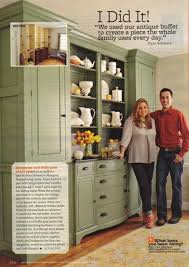 Kitchen Hutch Ideas New Uses For Old Hutches Emily A Clark