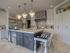 Kitchen Island With Table Seating Kitchen Islands With Seating Pictures Ideas From Hgtv Hgtv