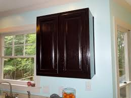 Wood Stained Cabinets How To Gel Stain Your Kitchen Cabinets